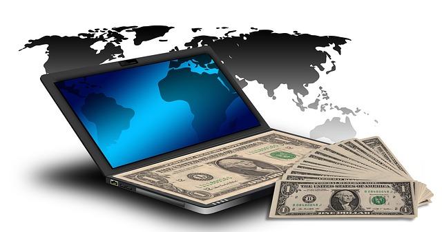 notebook, svět, peníze