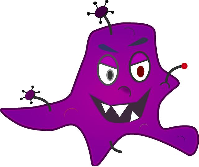 ničivá bakterie
