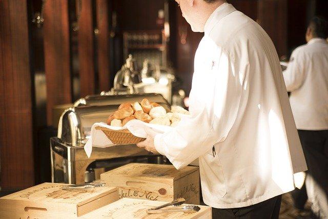 příprava cateringu