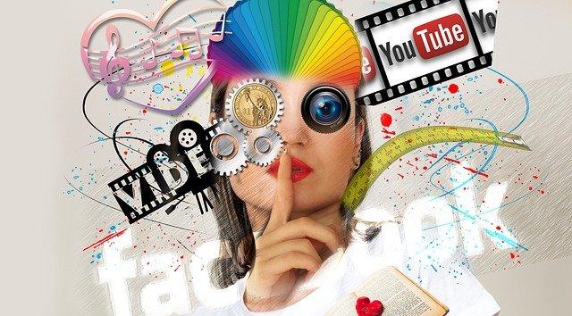 media a abstrakce