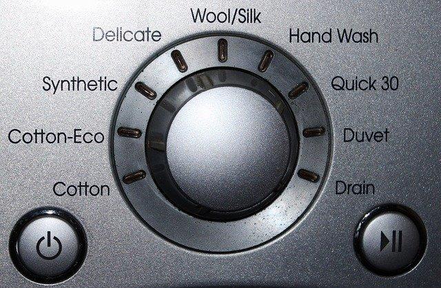 ovládací panel pračky