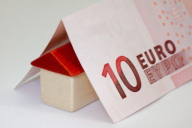 střecha z bankovky