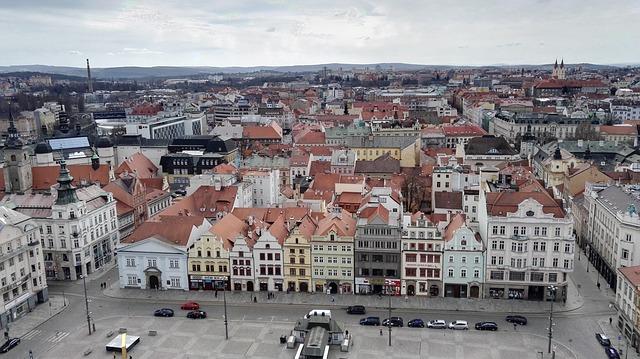 náměstí v Plzni